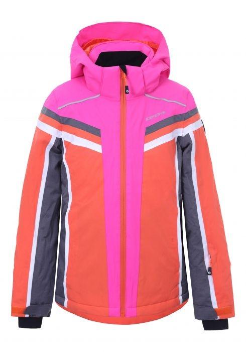 Icepeak Mädchen Skijacke Lacey Jr. orange-pink