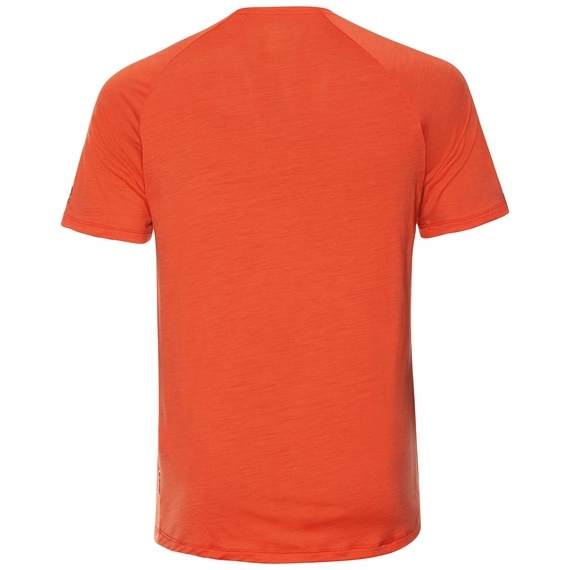 Odlo Herren CONCORD T-Shirt 550512 mandarin red
