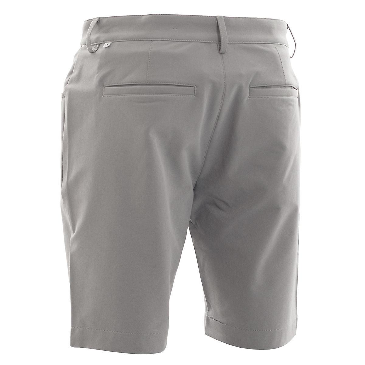 Calvin Klein Herren Genius 4-Way Stretch Shorts CKMS19214 silver