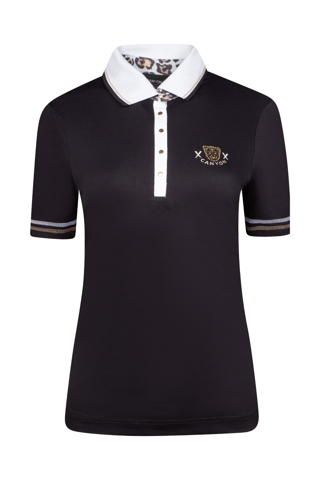 CANYON Da. Poloshirtshirt 967201 schwarz