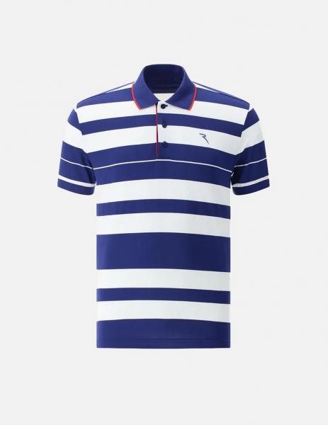 Chervo Herren Golf Poloshirt 64876 blue-white