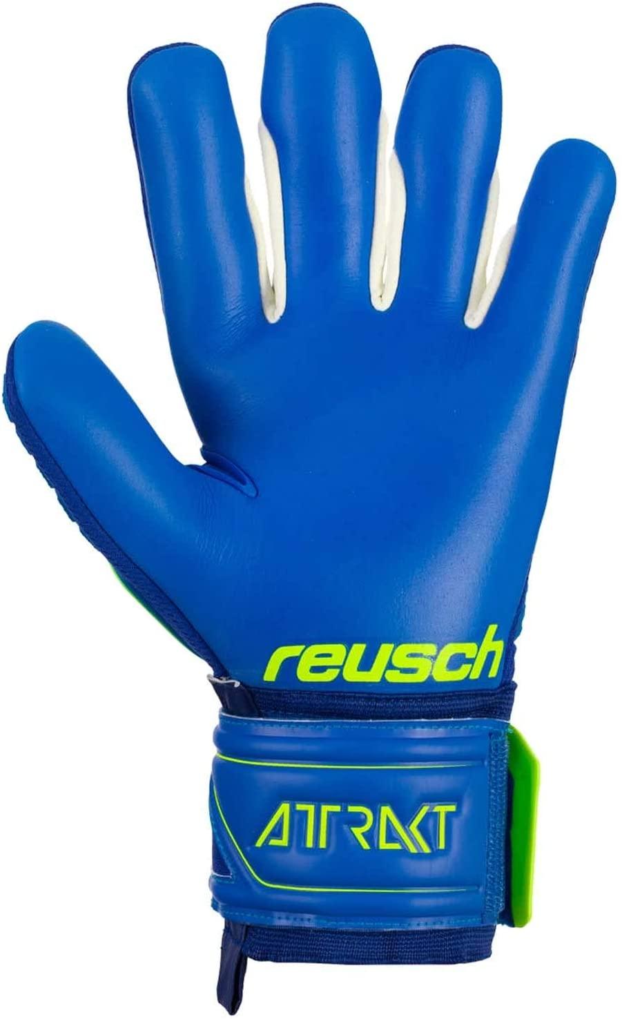 Reusch Attrakt Freegel G3 Fingersafe TW-Handschuh 5070930 gelb blau
