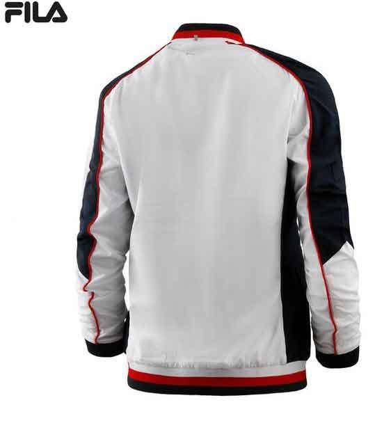 FILA Damen Trainingsjacke Jacky FBL191002 weiß-navy