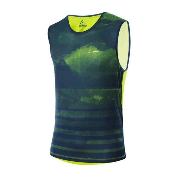 Löffler Herren Fitnessshirt AERO Top 24714 light green