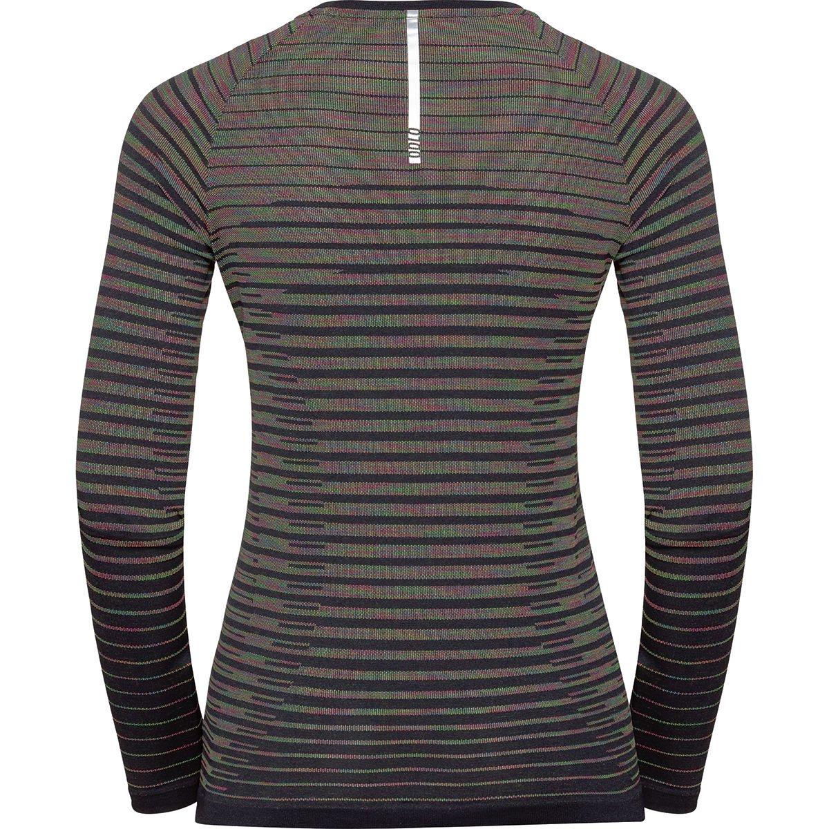 Odlo Damen BLACKCOMB PRO Langarm-Shirt 313181 black-space dye