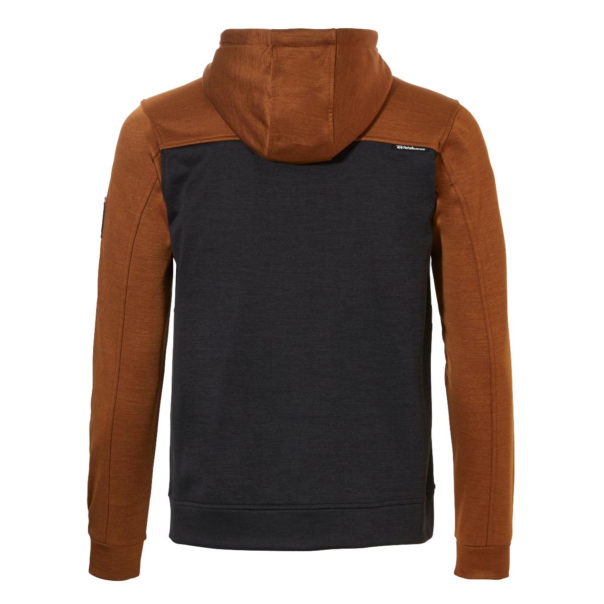 Rehall Herren Waves-R Full Zip Hooded Jacke 60032 copper brown