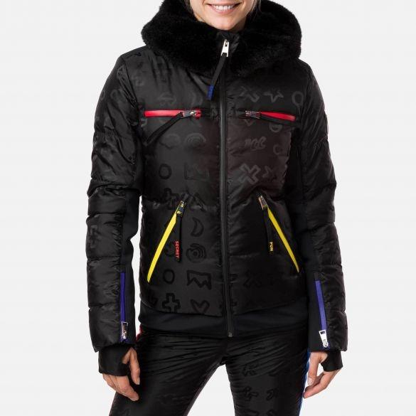 ROSSIGNOL Damen Castelbajac Skijacke Furi Down RLIJ61 schwarz