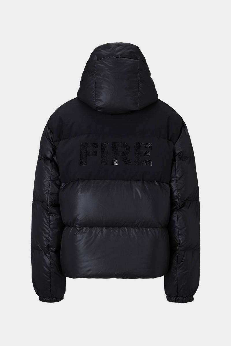 Bogner Fire + Ice Ski-Daunenjacke Ranja 3481 schwarz