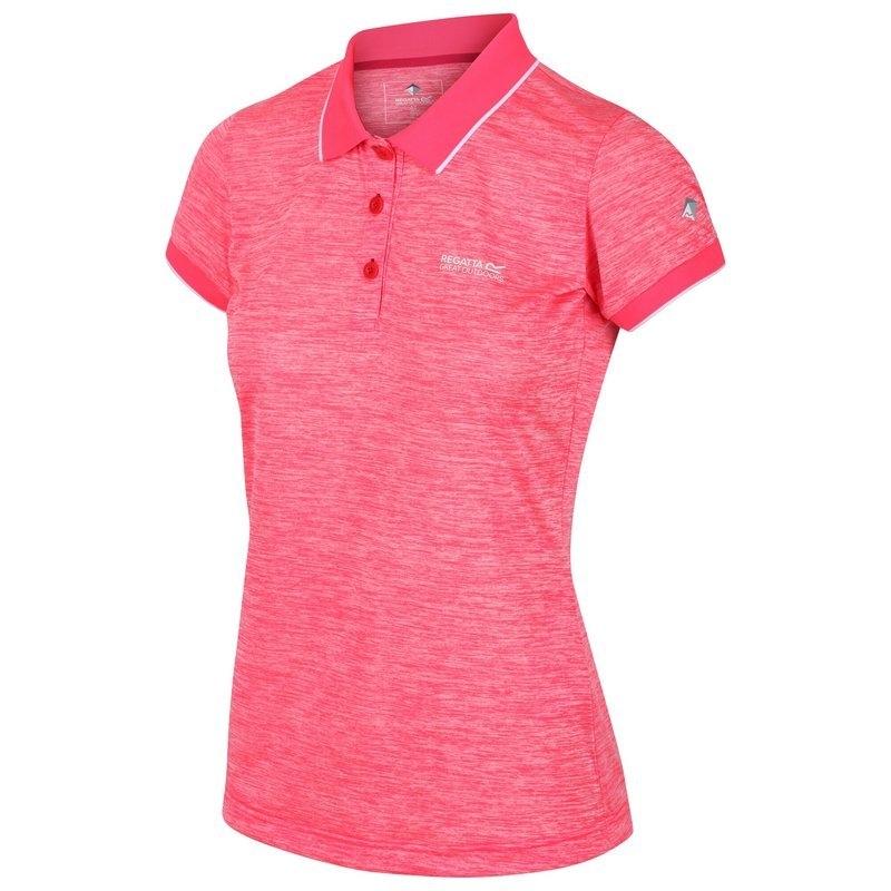 Regatta Damen Funktions Poloshirt REMEX II RWT178 neon pink