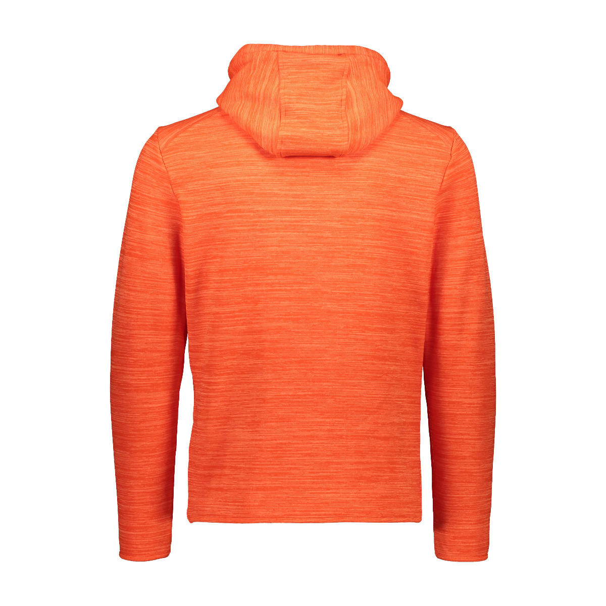 CMP Herren Powerstretch Pullover mit Kapuze 30E2357 orange