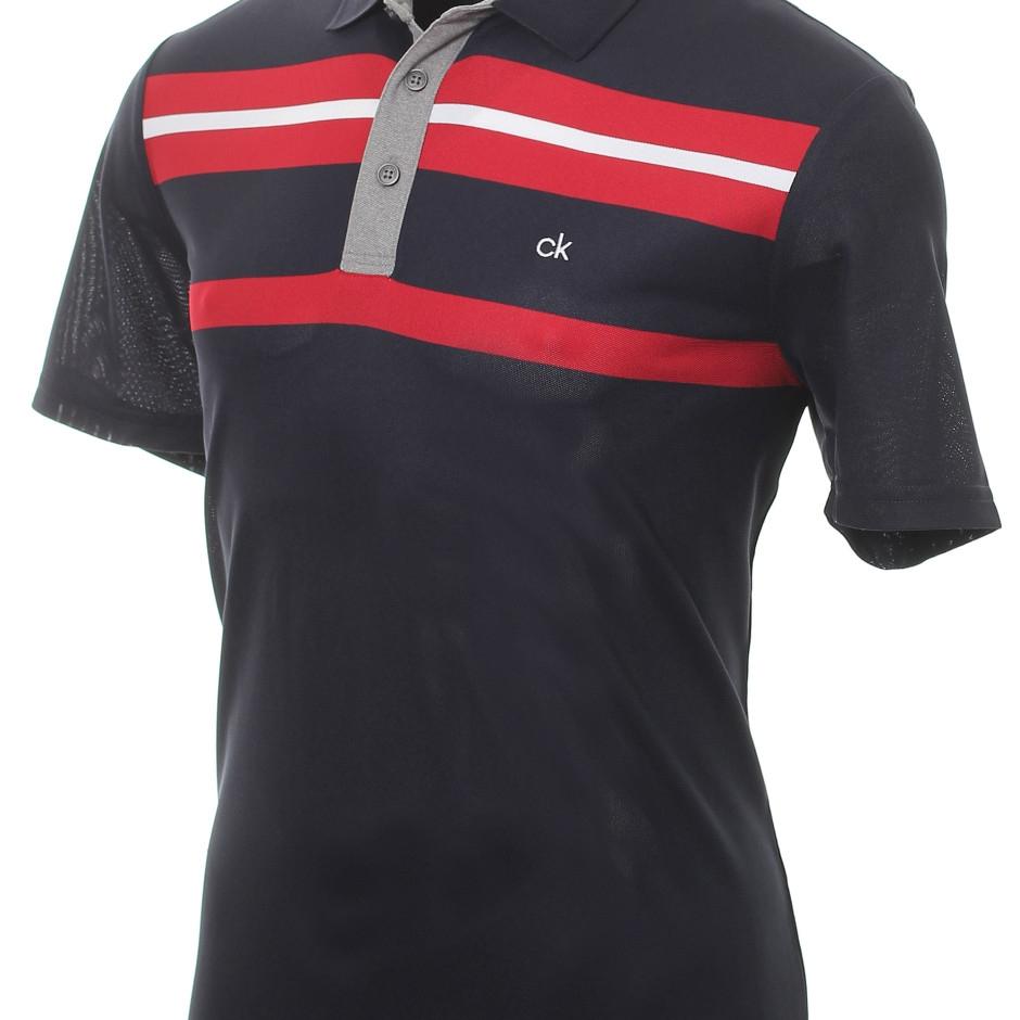 Calvin Klein Hr. Golf Anchor Poloshirt CKMA19300 dunkelblau