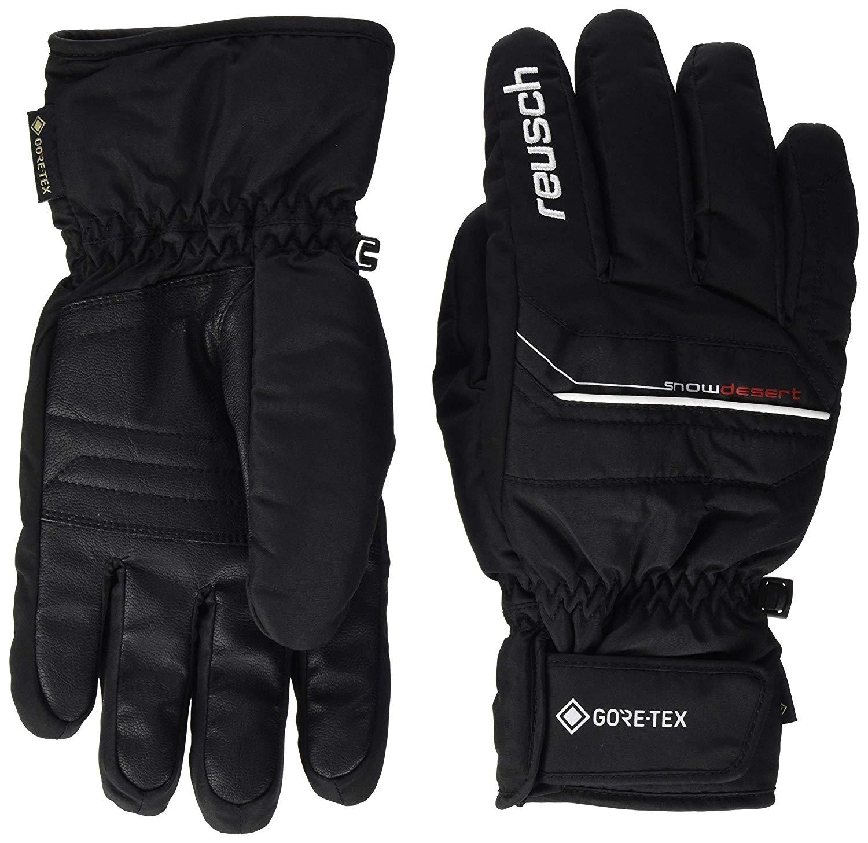 Reusch Herren Snow Desert GTX Skihandschuhe 4999308 schwarz