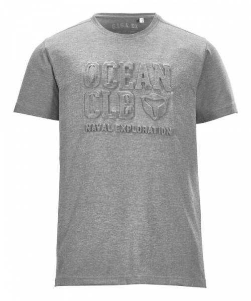 G.I.G.A. DX Herren Ederra Melange Casual T-Shirt 37337 grau