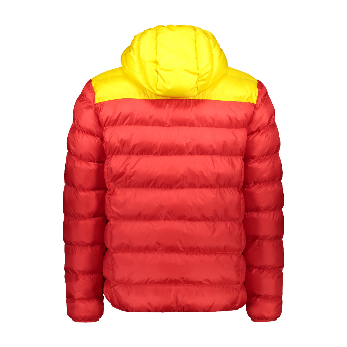 CMP Herren Giacca Slim Fit Steppjacke Feel Warm Flock 30K2757 rot