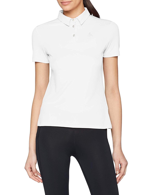 Odlo Da. F-Dry Poloshirt 550661 weiß