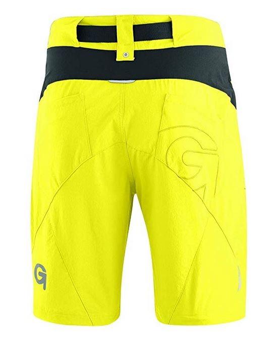 Gonso Herren Arico He-Bike-Shorts 15030 gelb
