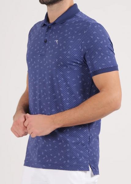 Chervo Herren Golf Poloshirt ASIER 64870 blue
