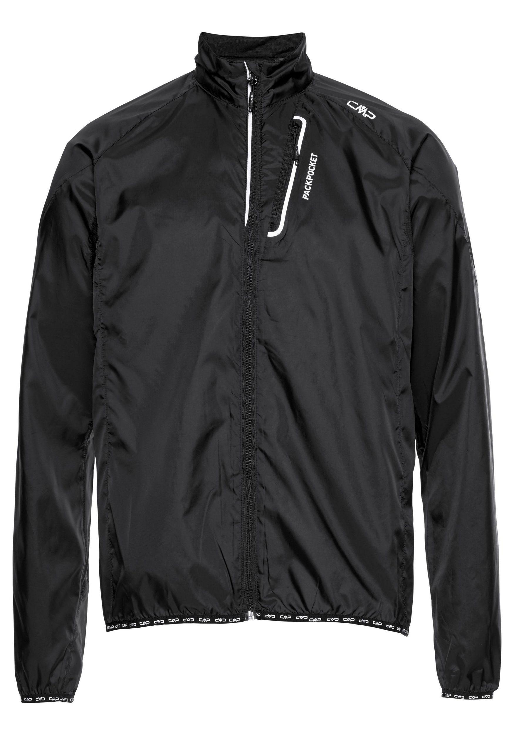 CMP Herren Fahrradjacke Windbreaker 3C46777T schwarz