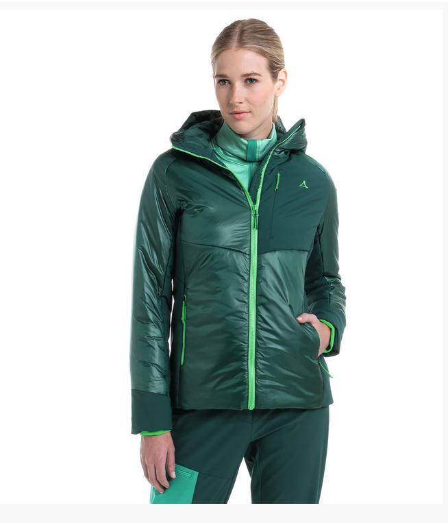 Schöffel Damen Thermo Jacke Boval L 12767 grün