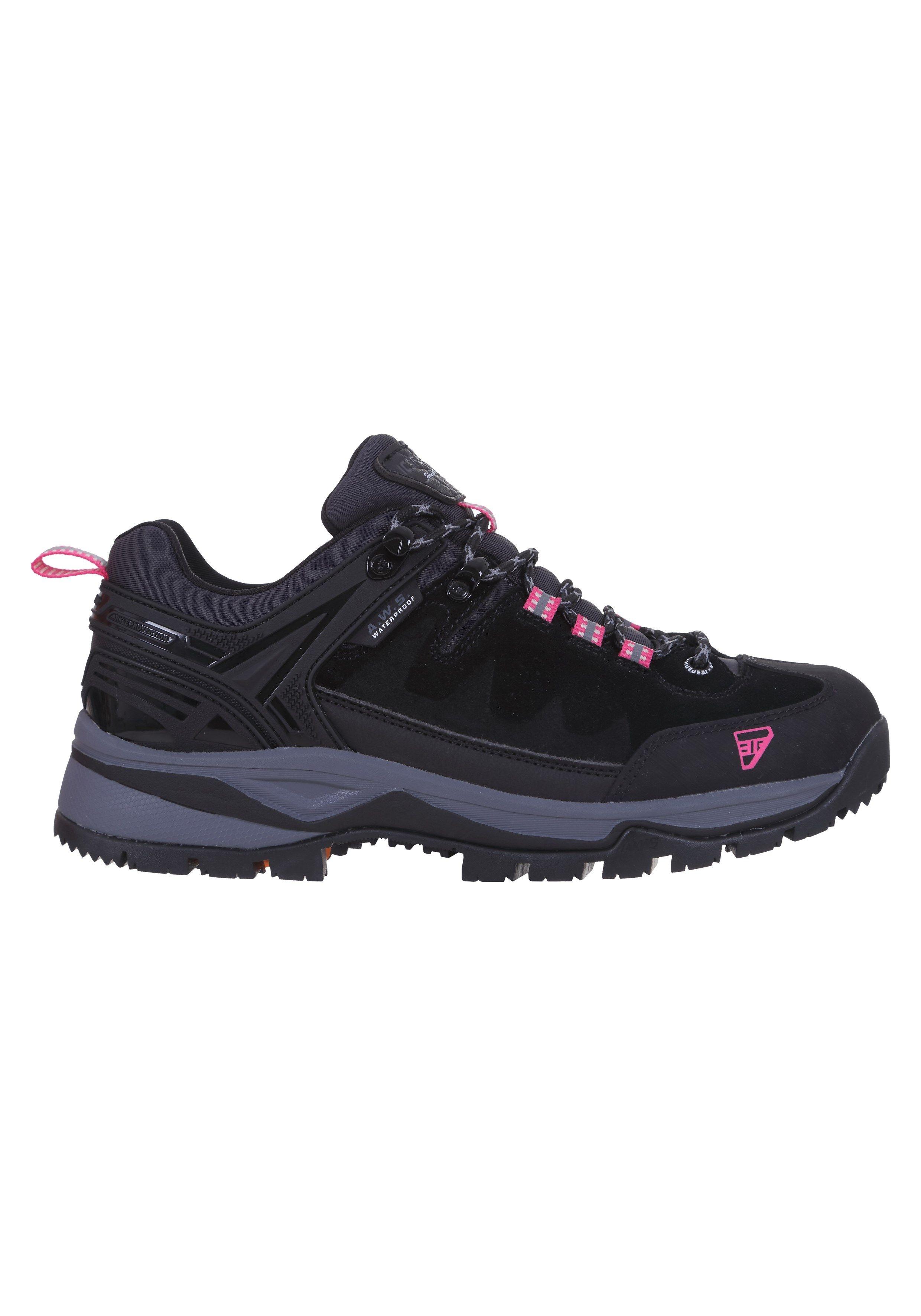 Icepeak Damen Wanderschuh Wyot Ms 75259 schwarz pink