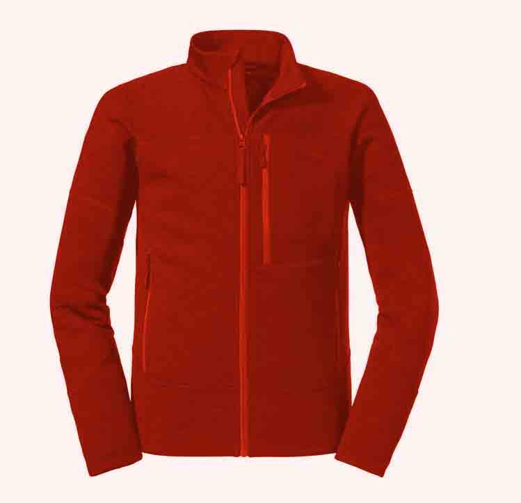 Schöffel Herren Fleece Jacket Tonquin M 23090 rot