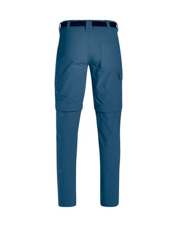 Maier Sports Herren Torid Slim Zip Wanderhose 133023 ensign blue