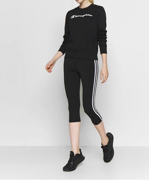 Champion Damen Crewneck Sweatshirt 112585 schwarz
