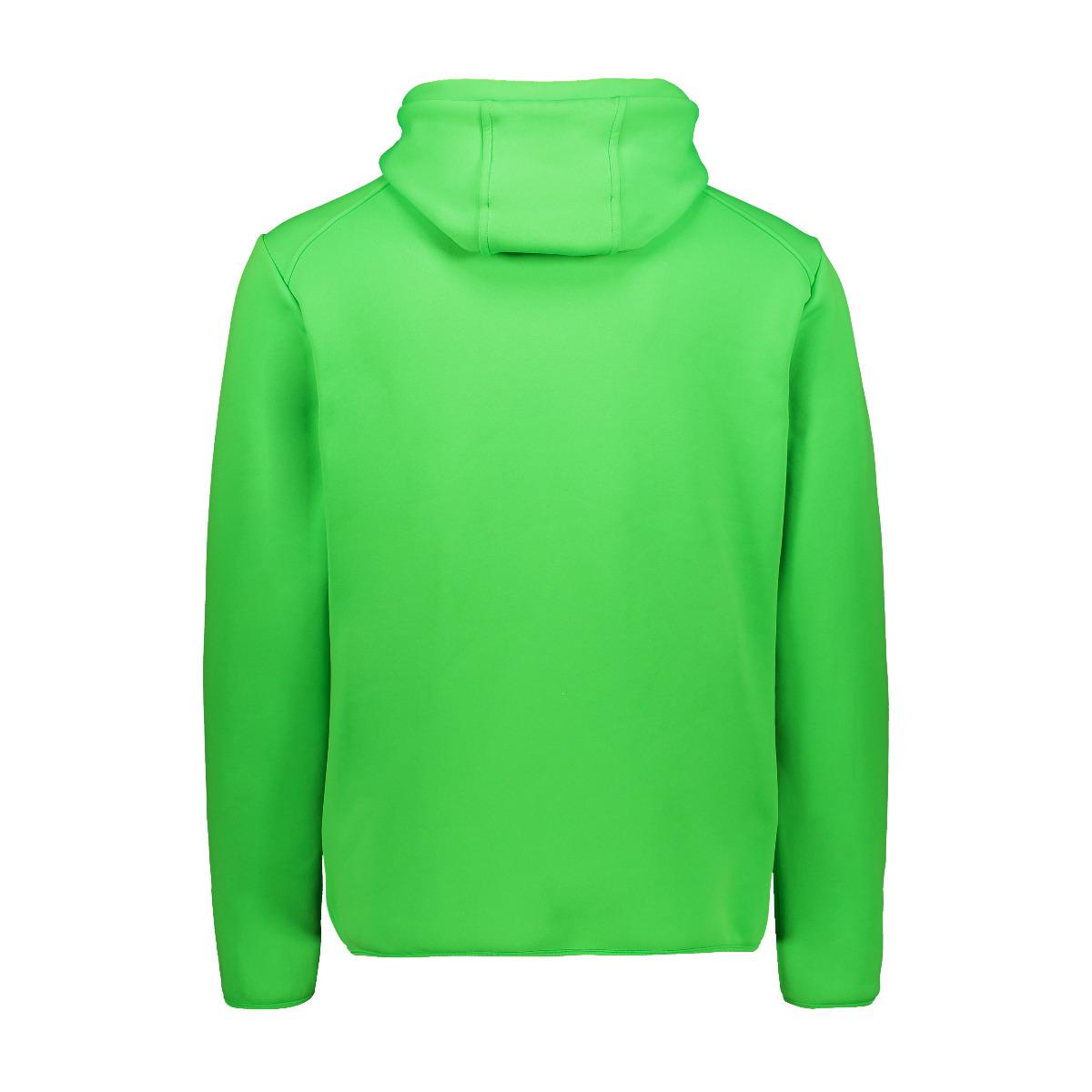 CMP Herren Powerstretch Pullover 30E2347 grün