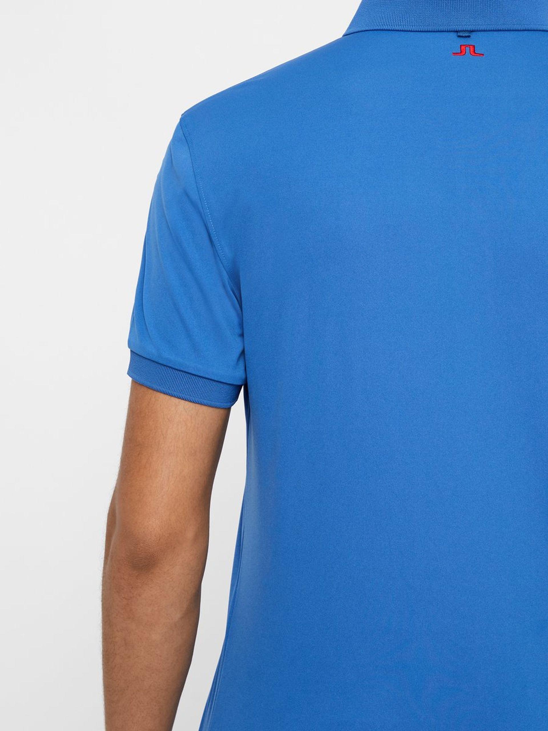 J. Lindeberg Hr. Tour Tech Reg Fit TX Jersey Poloshirt blau