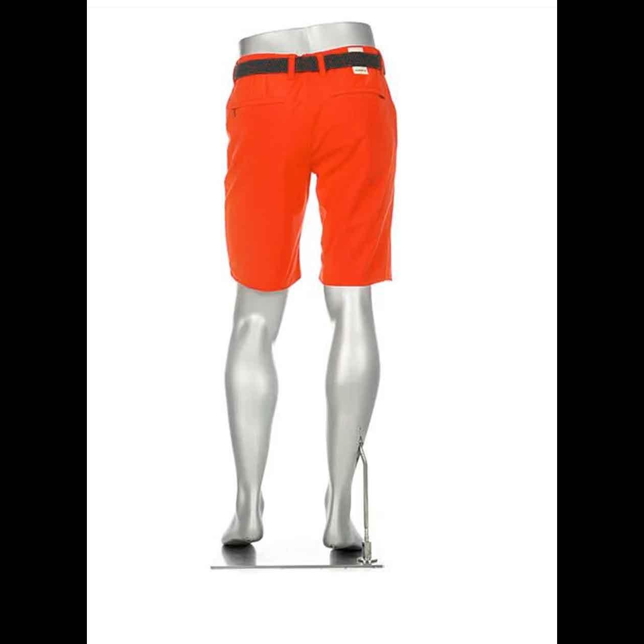 ALBERTO Golf Herren Bermudashorts regular slim fit EARNIE orange-rot