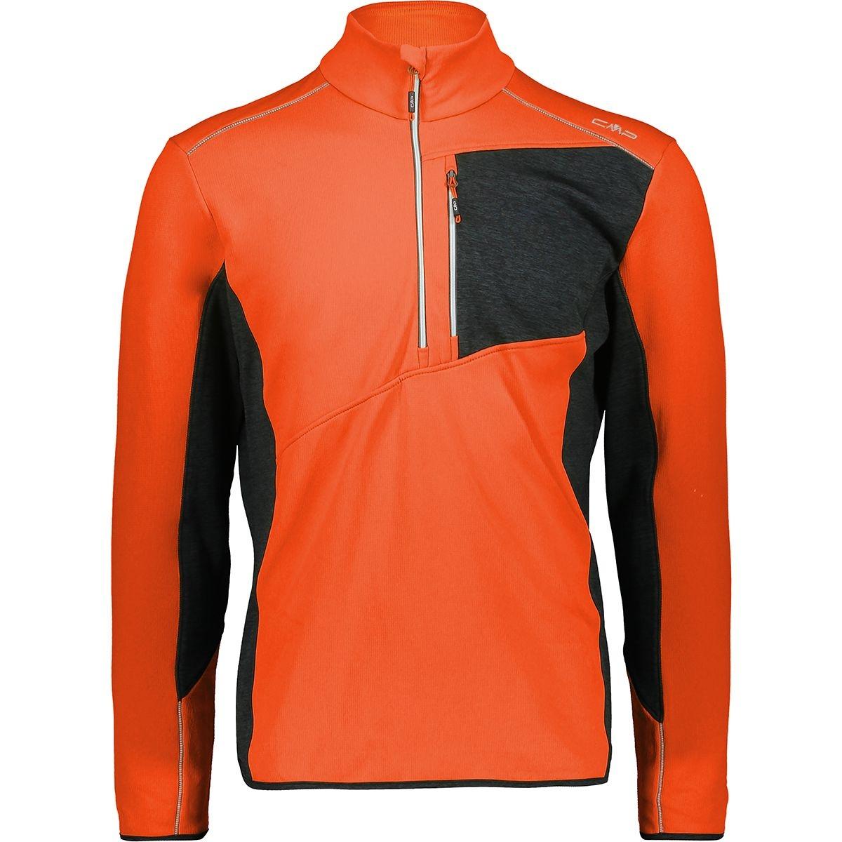 CMP Herren Gridtech Sweat Skirolli 39G2447 orange-rot