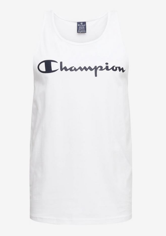 Champion Herren Tank Top Shirt 214145 weiß