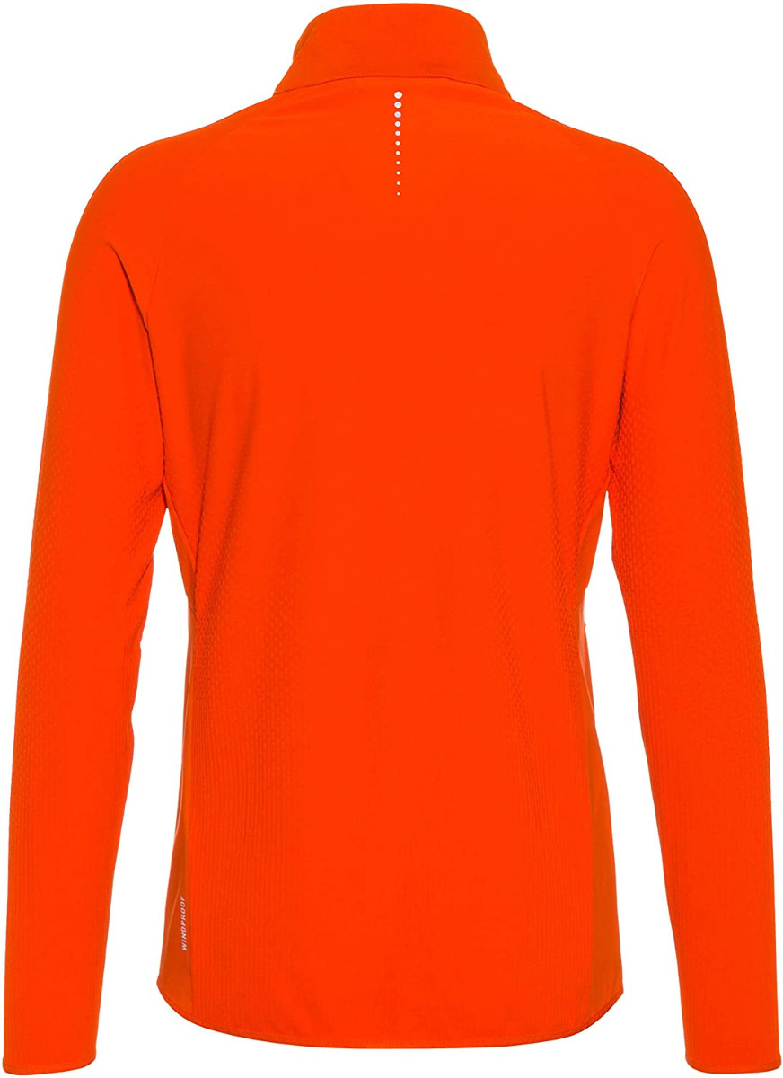 Odlo Herren ZEROWEIGHT WARM HYBRID Laufjacke 313202 orange