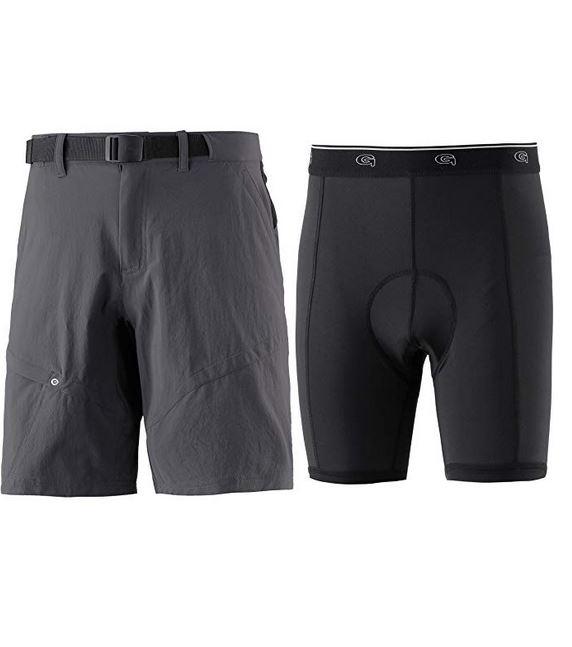 Gonso Herren Arico He-Bike-Shorts 15030 anthrazit