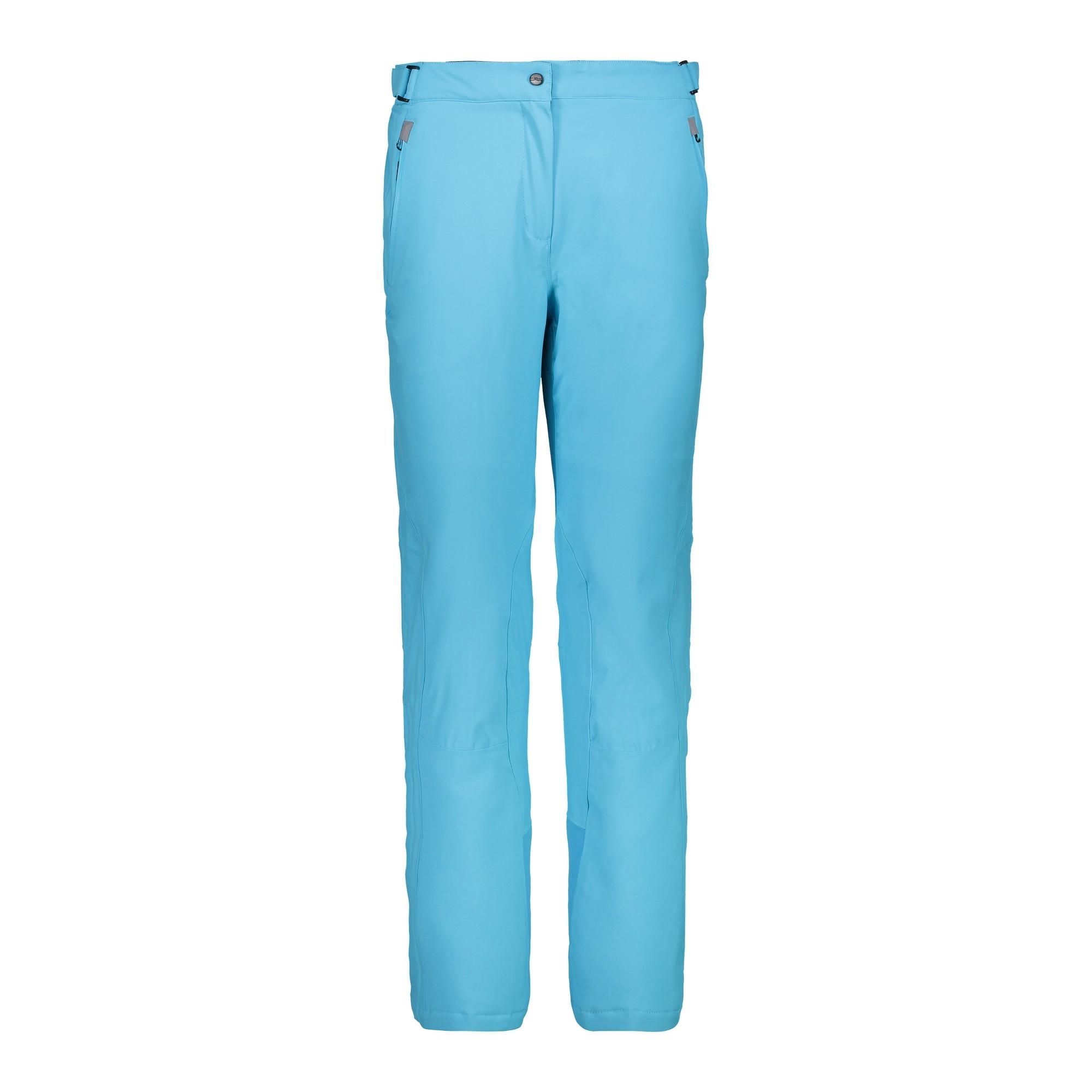 CMP Damen Stretch Skihose 3W18596N hellblau
