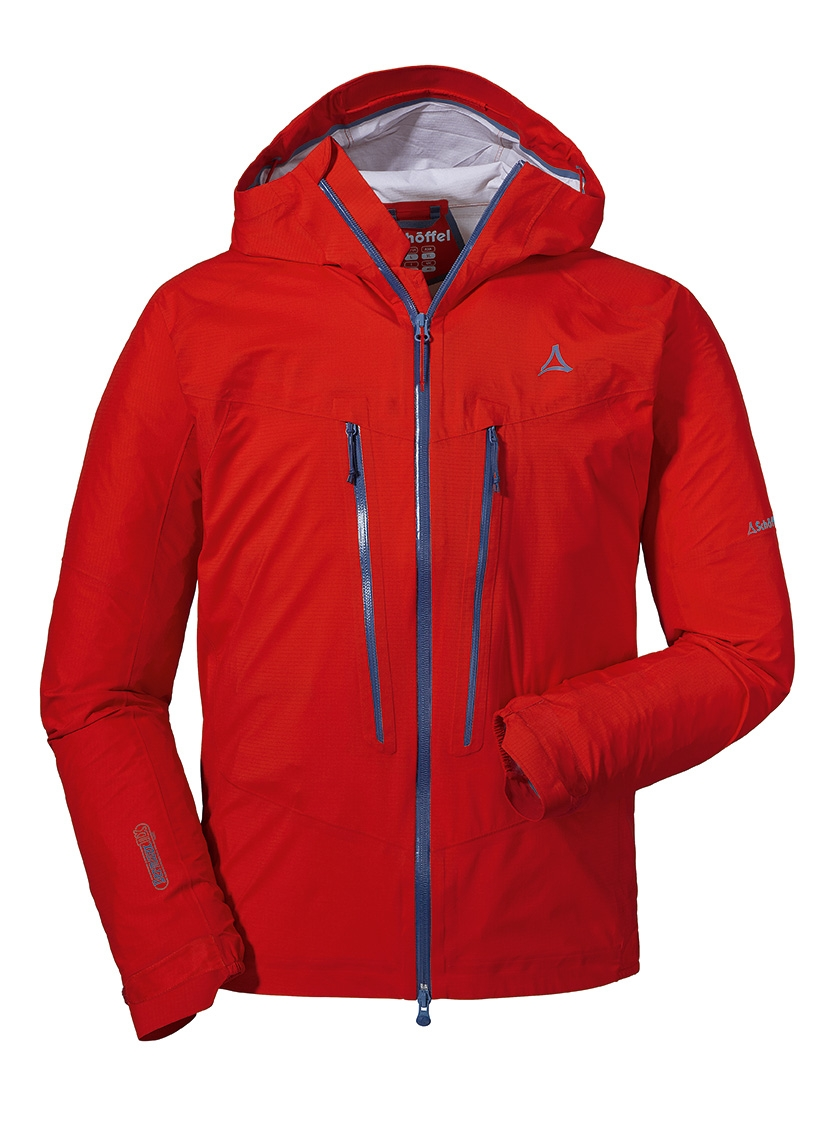 Schöffel Herren 3L Jacket Aletsch 22821 orange-rot