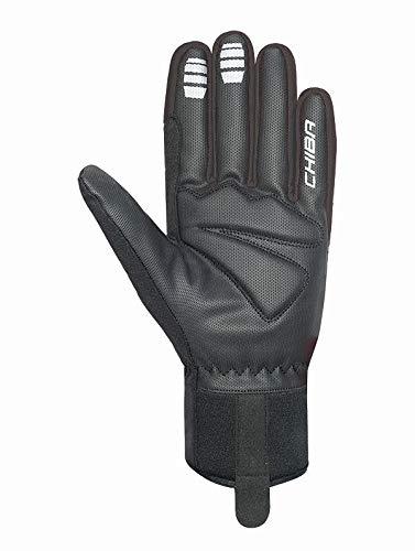 Chiba 2nd Skin Fahrrad Handschuhe lang 31239 schwarz