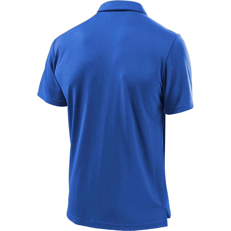 Löffler Herren Poloshirt Tencel CF 22805 blau