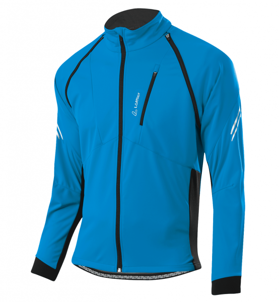 Löffler Herren Bike Zip Off Jacke San Remo S21 24573 blue lake