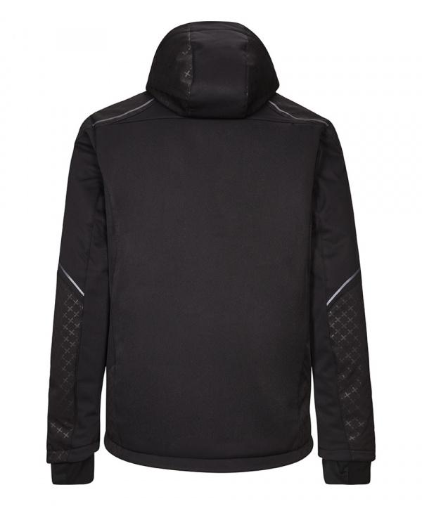 Killec Herren Cainan 3-Lagen Jacke mit abzippbarer Kapuze und Schneefang 34003 schwarz