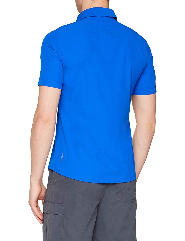 Odlo Hr. S/S Saikai Hemd 550012 blau