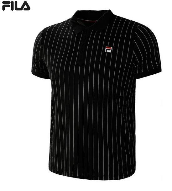 FILA Herren Poloshirt Pauline Jersey FRM131011 schwarz