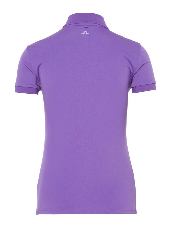 J.Lindeberg Damen W Tour Tech-TX Jersey Poloshirt lila