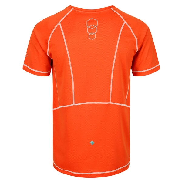 Regatta Herren VIRDA II leichtes Funktions T-Shirt RMT164 orange