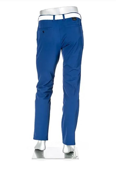 ALBERTO Golf Herren Stretchhose regular slim fit ROOKIE blau