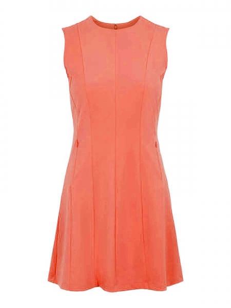 J.Lindeberg Damen Jasmin Golf Dress GWSD03618 coral