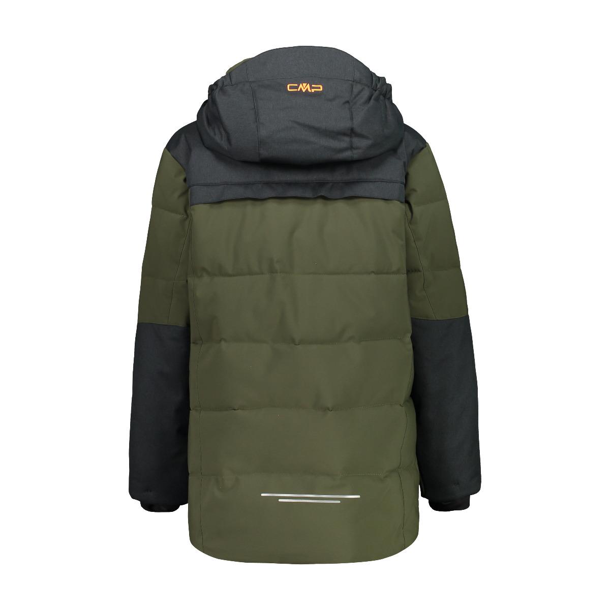 CMP Kinder Jacke Skijacke lang 30W0184 oliv