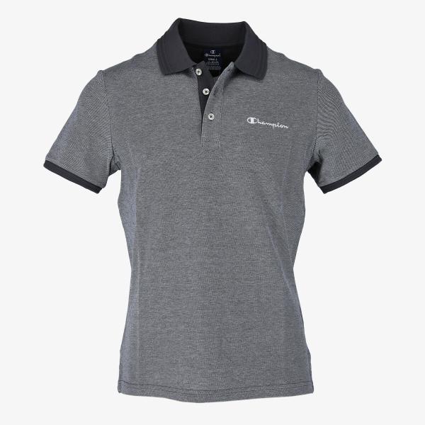 Champion Hr. Poloshirt 214395-EX502 grau melange