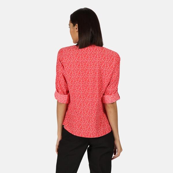 Regatta Damen NIMIS II Langarmhemd RWS115 rot