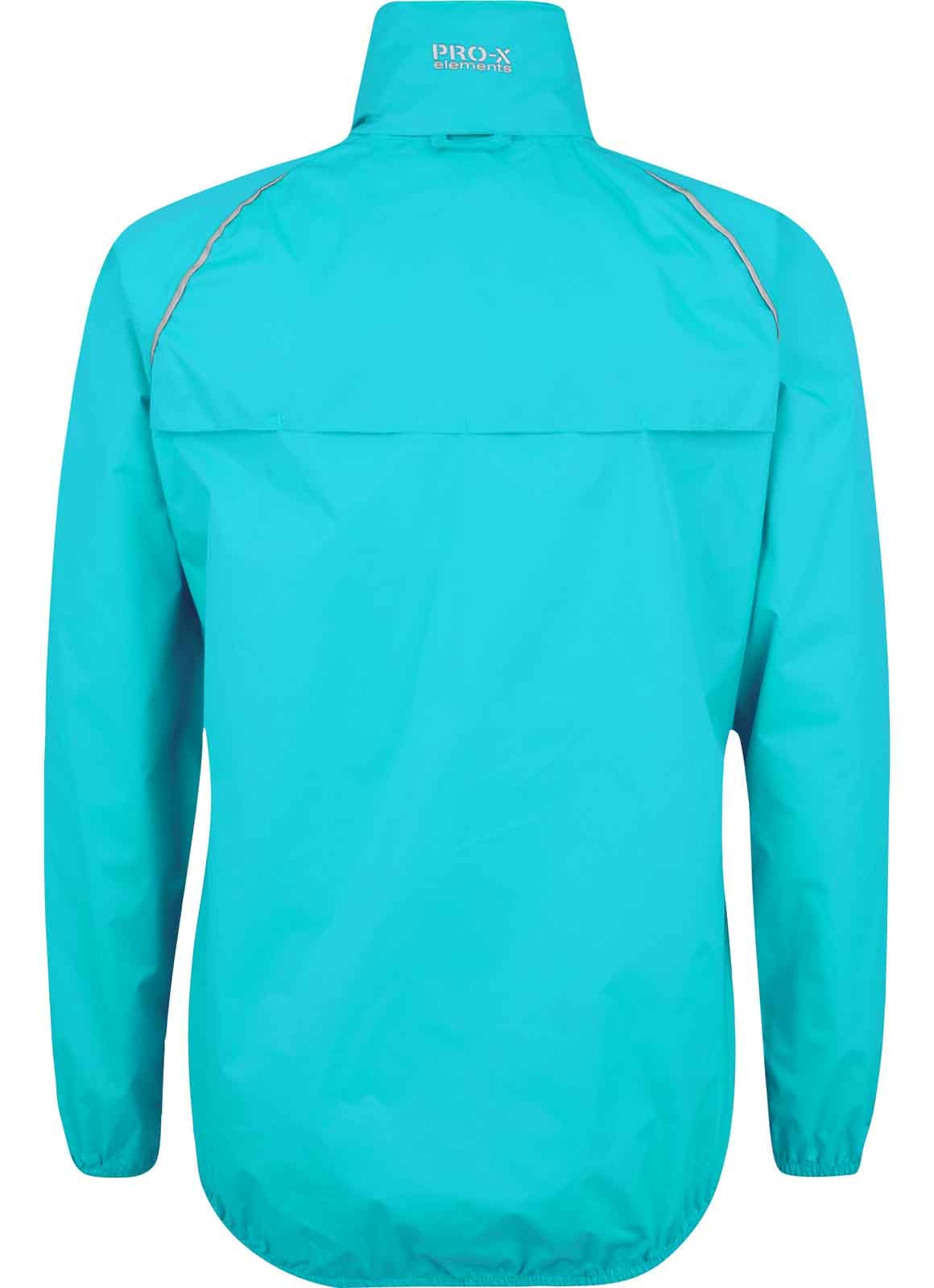 PRO-X elements Da. Packable Reckenjacke 7021 neon türkis